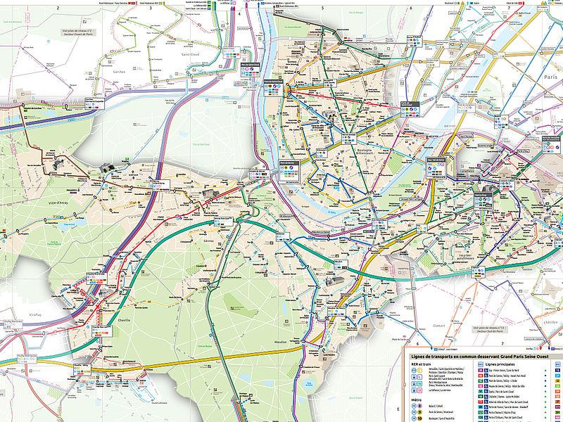 Plan General De Deplacement Ville De Boulogne Billancourt